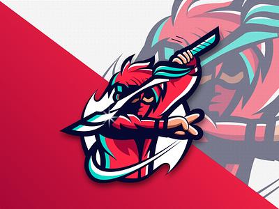 Ninja tatto design creative design professional logo bangladesh tshirt design modern ninja vector art illustrator illustration cartoon ninja mascot logo branding logo motion graphics graphic design animation ui