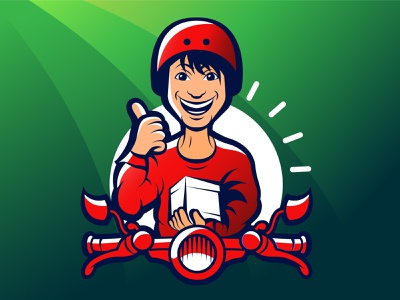 Bd Rider app icon design funny cute logo motorbike logo bike logo bangladesh parcel logo rider logo bd rider mascot logo cartoon bangladeshi logo motion graphics graphic design animation design logo creative logo brand identity icon design illustration