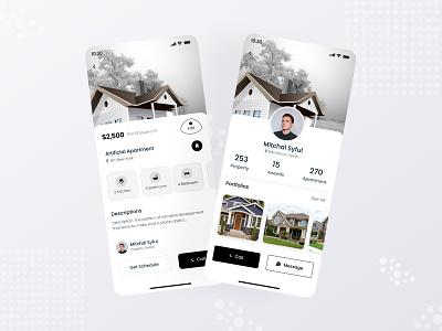 Real estate app ui kit building create house generate home decorate builders builders app real estate ui kit ui kit home design real estate mobile app app design app ux design ui design ux ui