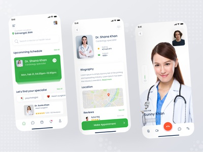 Doctor's Appointment App service medical service health health care sajib sylgraph medical booking medical appointment medical doctor doctor appointment booking appointment mobile app app design app ux design ui design ux ui