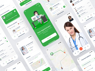 Doctor's appointment app ui patient covid health health care app design mobile app uiux design uiux sylgraph sajib medical appointment app doctor appointment app booking app appointment app appointment doctor doctor app medical medical app