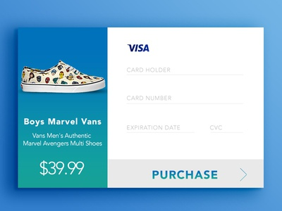 Daily UI Challenge #2: Credit Card Checkout #DailyUI