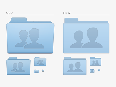 Folder Flattening! folder icon flat collaboration people group shared