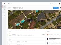 Commercial drone cloud app