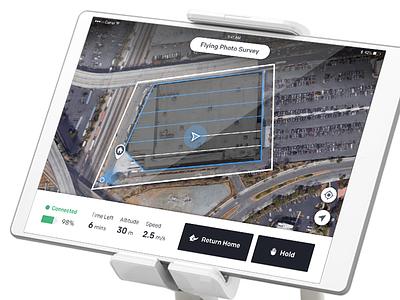 Drone Operator App map ipad uav drone
