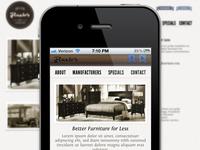 Fluehr's Furniture responsive site