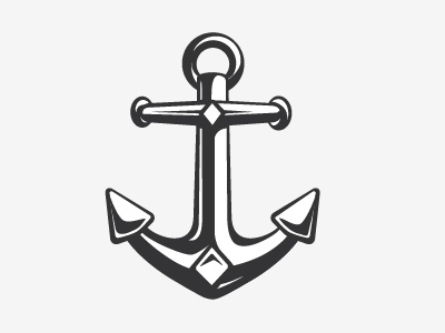Anchor logo wip by mark bauer dribbble anchor logo that im making for a clothing company its still rough i need to clean up some of the shapes and whatnot thinking about adding a rope too thecheapjerseys Images