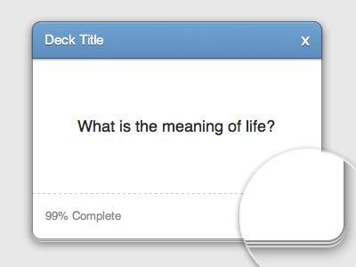 CSS3 Card Deck