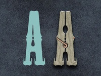 Clothespin | Playing With Type