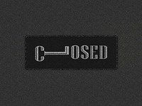 Closed | Playing With Type