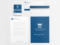 Anderson Insurance Branding Package