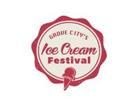 Icecream Festival Logo