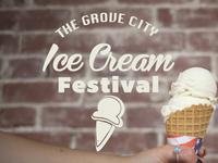Ice Cream Festival Logo 2