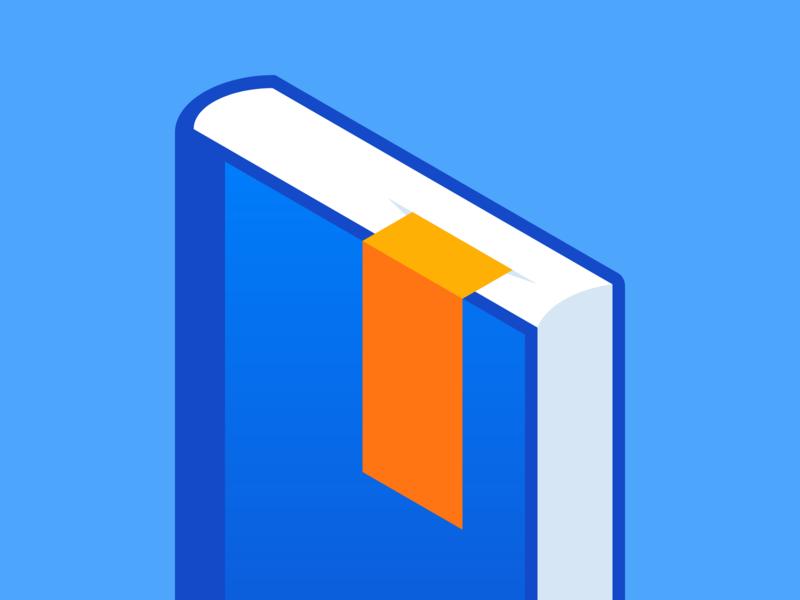 Bookmark icon vector illustration