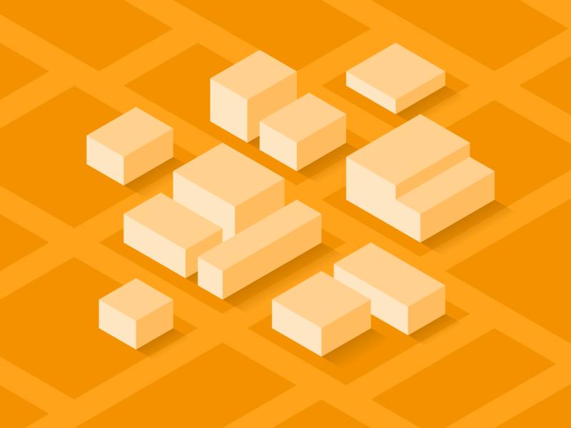 Campus Map icon vector illustration isometric