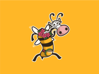 Bee Cow Character