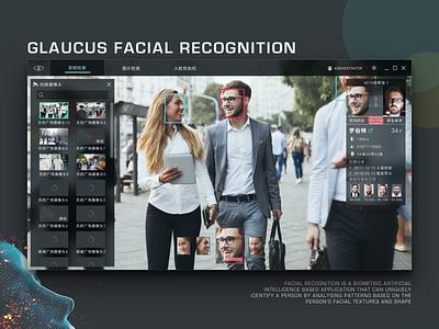 Glaucus Facial Recognition System facial recognition face recognition software pc software userinterfaces ui technology tech