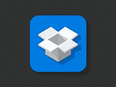 Dropbox Squares Style dropbox flat flatui squares ios appicon icon