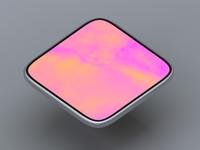 Phablet octane cienma4d 3d turbaba phone hard surface modeling modeling