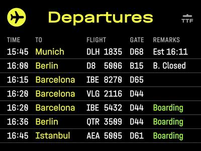 Departures iconoteka icon animation turbaba navigation bar airport departures navigation navigator