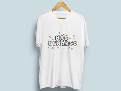 Mac DeMarco T-Shirt Design