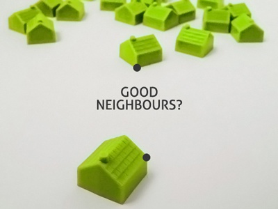 Good neighbours dribbble
