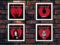 Valentine Horror Hearts
