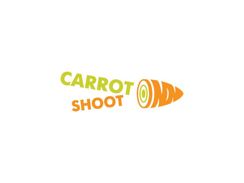 Carrot Shoot     Logo vector design branding illustration logo