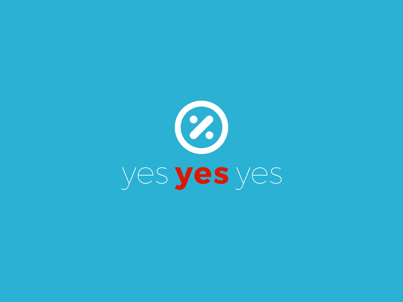 Logo Design // Yes Yes Yes logo vector illustration branding design