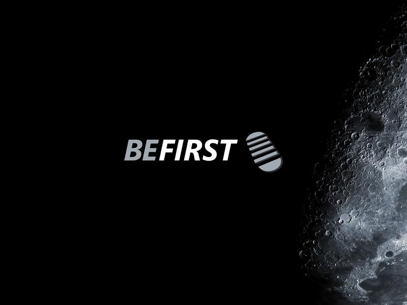 Logo Design // BeFirst vector illustration branding logo design