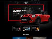 MINI homepage concept