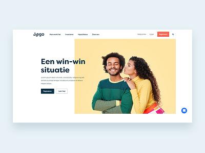 Jungo design homepage webdesign