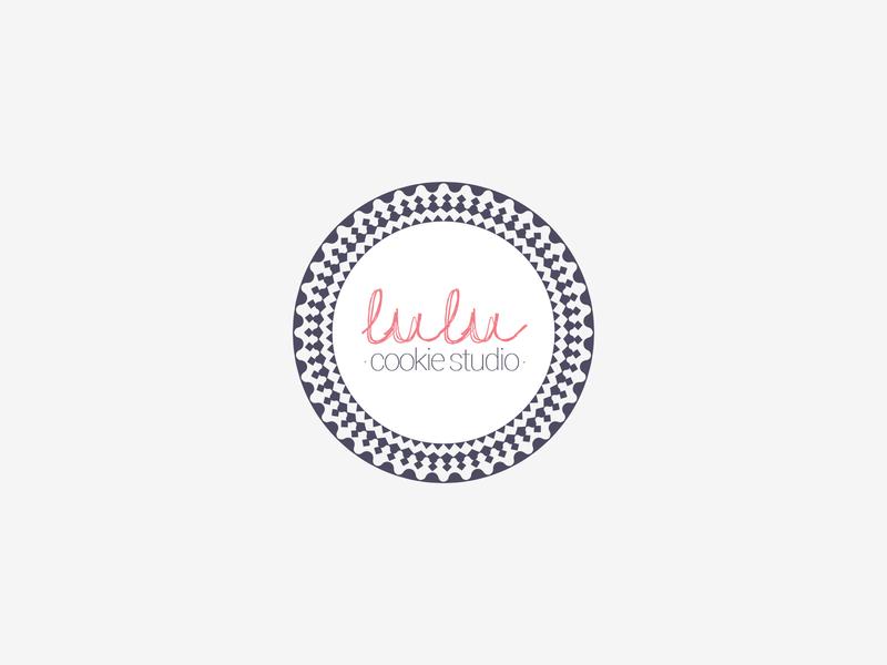 Lulu Cookie Studio Branding, Logo Design corporate design identity design modern cookie studio bakery minimal logo logodesign idea rebrand concept typography identity branding graphic design