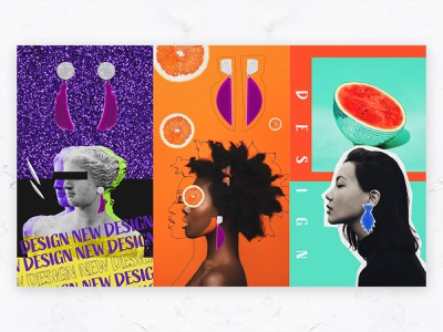 Noina - Story Design colorful fun typography logo minimal accessories idea concept rebrand story design post socialmedia branding graphic design