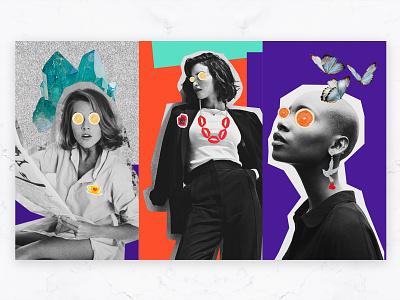 Noina - Story Design accessories social media post story modern graphic design idea concept logodesign minimal typography branding graphic design