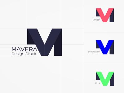 Design Studio Logo bold art illustration graphic design production print design studio logotype logo logodesign idea minimal rebrand identity concept typography branding design graphic