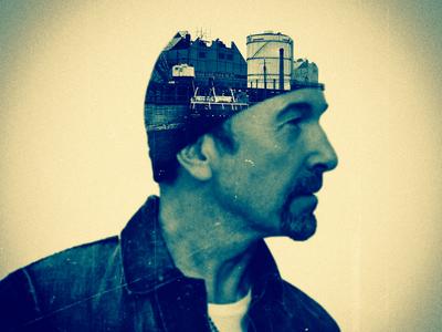 U2 - The Edge Dublin Portrait