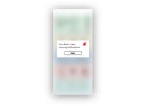 Daily UI Challenge #49 Notifications notifications dailyui049 ux app ui typography design dailyui