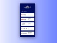 Daily UI Challenge #50 Job Listing dailyui050 joblisting branding gradient app ui typography design dailyui