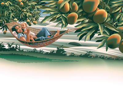 Mango Grove - i2i Art Inc. - ©Gary Alphonso