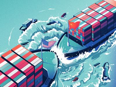 Trade Wars - i2i Art Inc. - ©Eric Chow