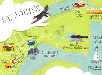St John's - i2i Art Inc. - ©Dan Bransfield