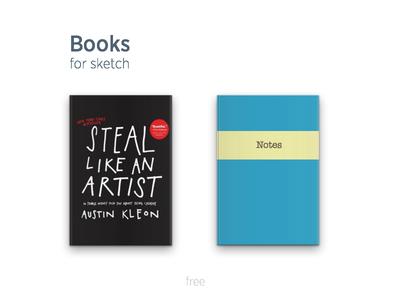 Books for sketch books sketch