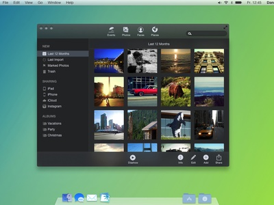 Mac OS X Syrah - Concept mac os x syrah interface ui