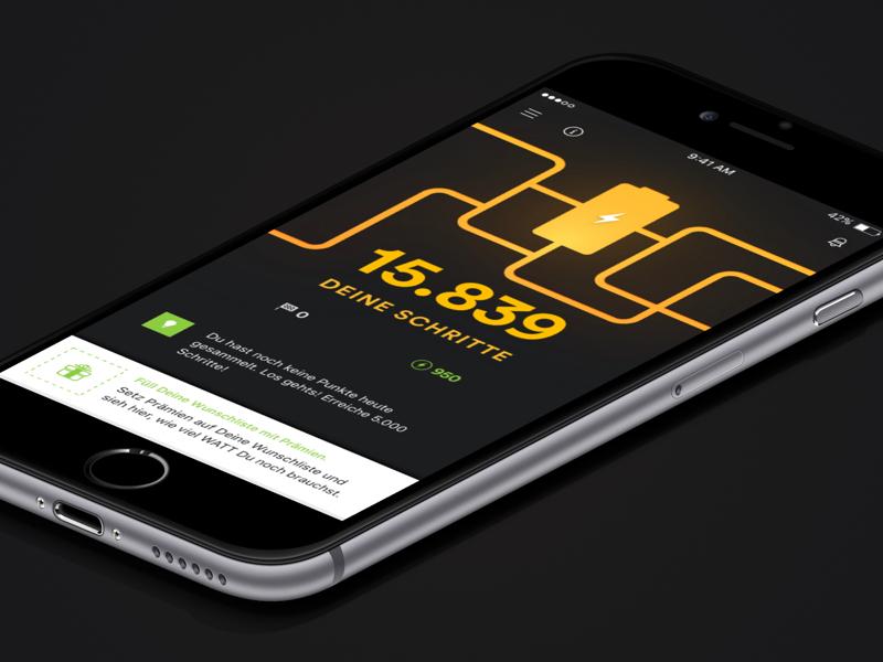 Watt für dich - Customer App app sports steps counter running
