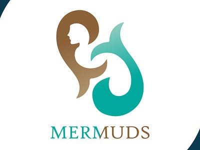 mermaid mud graphic graphic design visual identity sea mermaid icon design icon visual design brand design art mascot design vector logo illustration flat design branding art