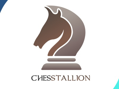 chesstallion designspiration chess horse logo horse icon brand mascot design design art vector logo illustration flat design branding art