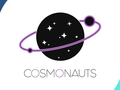 cosmonauts visual identity visual design stars logodesign dreams astronauts universe space icon brand design art vector logo illustration flat design branding art