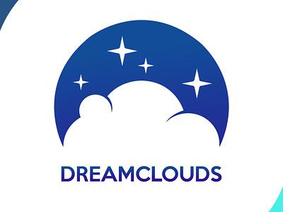 dreamclouds icon brand design art vector logo illustration flat design branding art