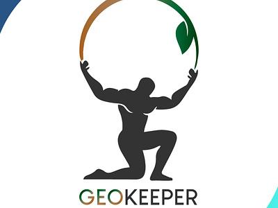 geo keeper icon brand design art vector logo illustration flat design branding art